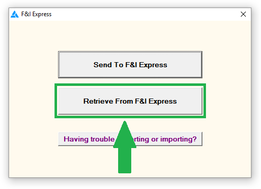 Sales > S-C Service Contract Providers > F&I Express > Using the F&I